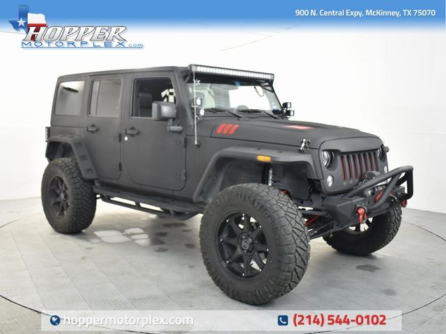 2016 Jeep Wrangler Unlimited Sport Custom Lift, Wheels and Tires