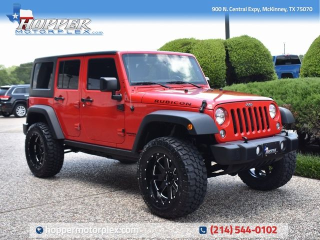 2016 Jeep Wrangler Unlimited Rubicon NEW LIFT/CUSTOM WHEELS AND TIRES
