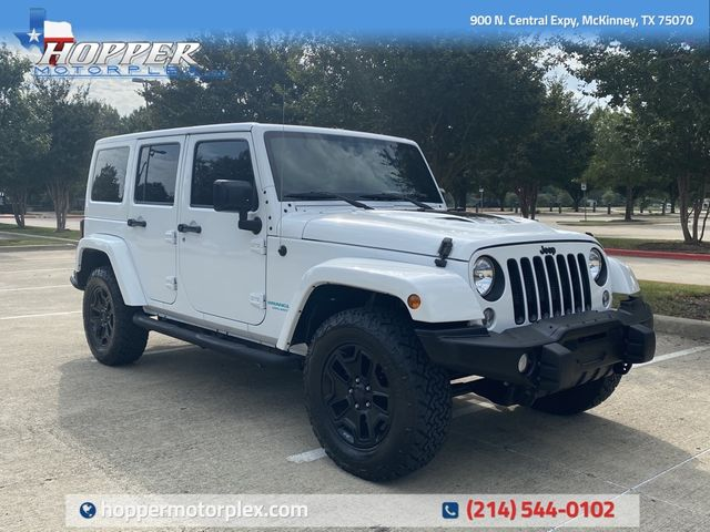 2016 Jeep Wrangler Unlimited Sahara Back Country edition