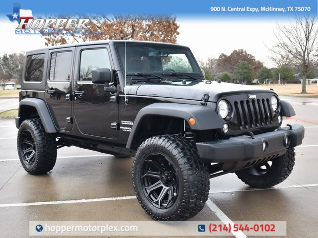 2016 Jeep Wrangler Unlimited Sport NEW LIFT/CUSTOM WHEELS AND TIRES