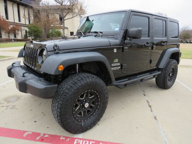2016 Jeep Wrangler Unlimited Sport New Lift, Wheels and Tires in McKinney, Texas 75070