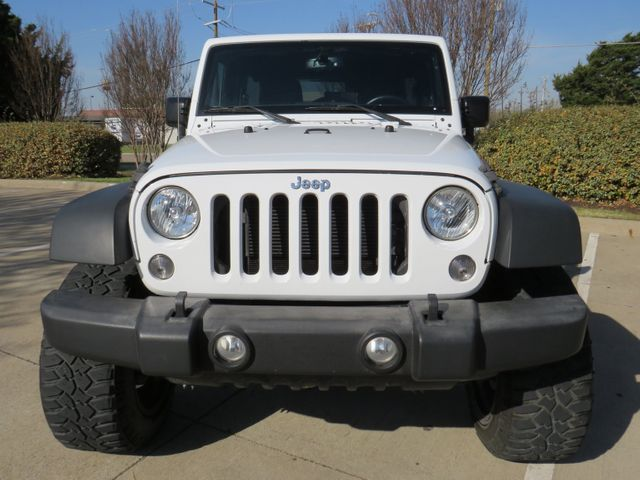 2016 Jeep Wrangler Unlimited Rubicon Custom Lift, Wheels and Tires in McKinney, Texas 75070