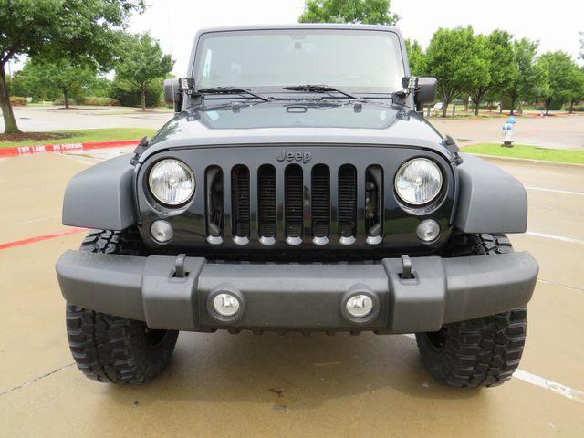 2016 Jeep Wrangler Unlimited Willys Wheeler NEW LIFT/CUSTOM WHEELS... in McKinney, Texas 75070