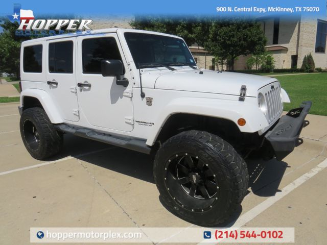 2016 Jeep Wrangler Unlimited Sahara LIFT/CUSTOM WHEELS AND TIRES