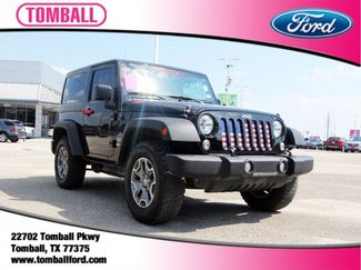 2016 Jeep Wrangler Sport in Tomball, TX 77375