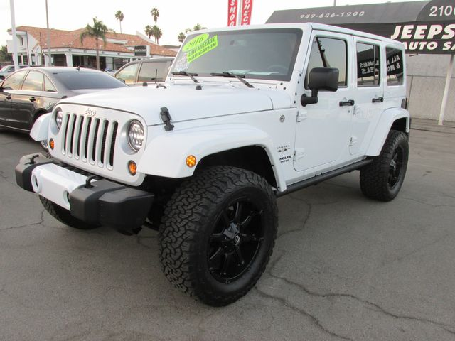 2016 Jeep Wrangler Unlimited 4X4 Sahara