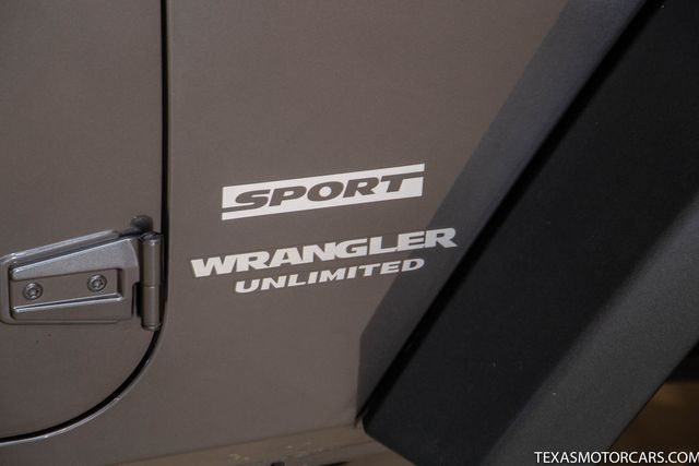 2016 Jeep Wrangler Unlimited Sport in Addison, Texas 75001