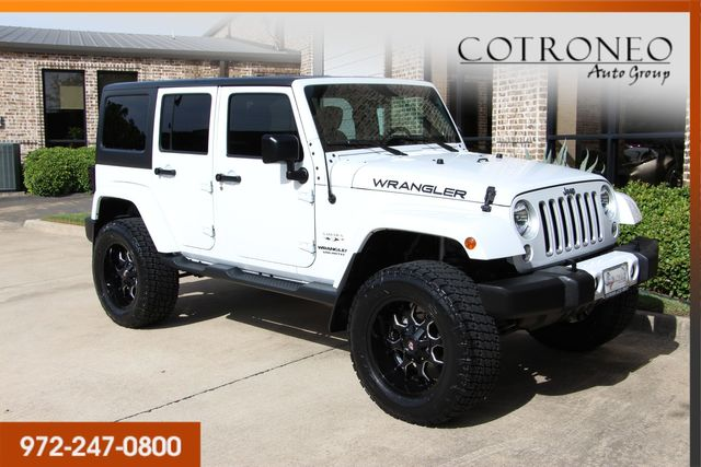 2016 Jeep Wrangler Unlimited Sahara in Addison, TX 75001