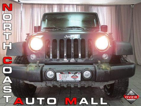 2016 Jeep Wrangler Unlimited Sport in Akron, OH