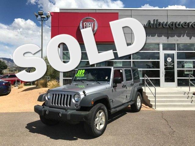 2016 Jeep Wrangler Unlimited Sport in Albuquerque New Mexico, 87109