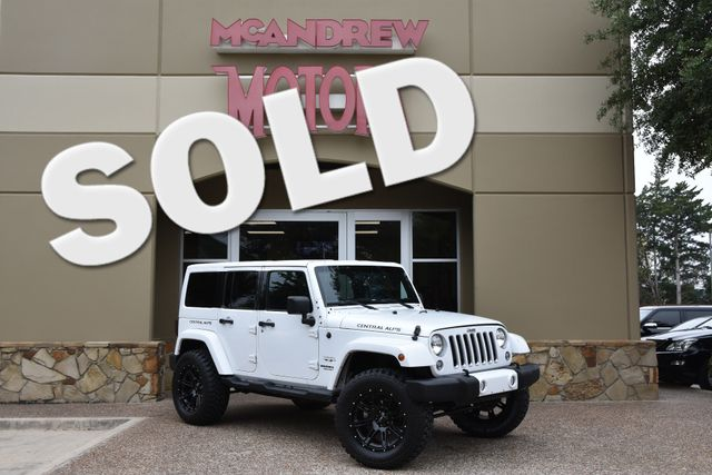 2016 Jeep Wrangler Unlimited Sahara Central Alps Edition in Arlington, TX Texas, 76013