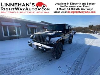 2016 Jeep Wrangler Unlimited Sahara in Bangor, ME 04401