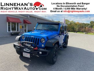 2016 Jeep Wrangler Unlimited Rubicon Hard Rock in Bangor, ME 04401