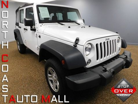 2016 Jeep Wrangler Unlimited Sport in Bedford, Ohio