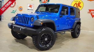 2016 Jeep Wrangler Unlimited Rubicon 4X4 6 SPD,LIFTED,NAV,CLOTH,BLK WHLS,21K! in Carrollton, TX 75006