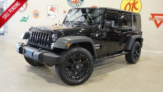 2016 Jeep Wrangler Unlimited Sport 4X4 AUTO,LED'S,BLK 20'S,18K,WE FINANCE in Carrollton TX, 75006