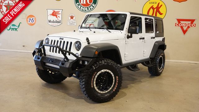 2016 Jeep Wrangler Unlimited Sport 4X4 AUTO,LIFTED,FAB FOURS,LED'S,39K