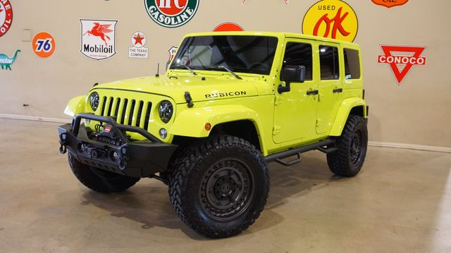 2016 Jeep Wrangler Unlimited Rubicon 4X4 LIFTED,LED'S,ALPINE RESTYLE,HTD LTH in Carrollton, TX 75006