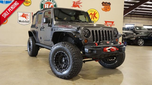 2016 Jeep Wrangler Unlimited Rubicon Hard Rock 4X4 LIFTED,BUMPERS,64K