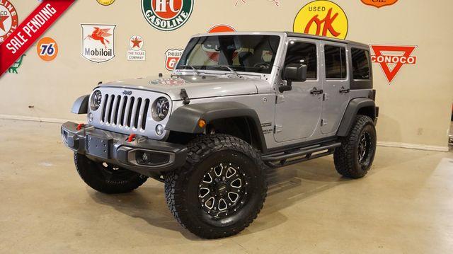 2016 Jeep Wrangler Unlimited Sport 4X4 6 SPD,LIFTED,NAV,LED'S,52K