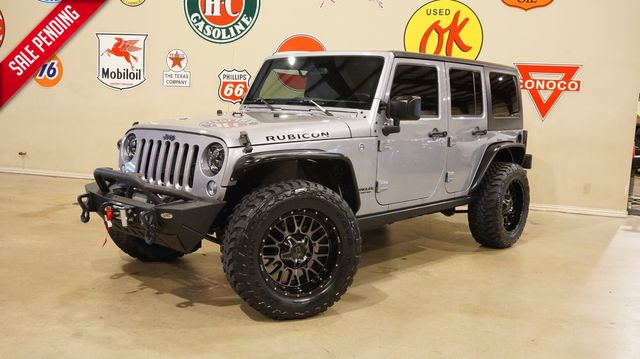 2016 Jeep Wrangler Unlimited Rubicon 4X4 NAV,HTD LTH,BUMPERS,XD 20'S,21K