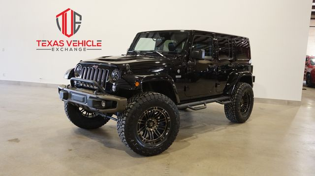 2016 Jeep Wrangler Unlimited 75th Anniversary 4X4 LIFTED,BUMPERS,20'S,43K