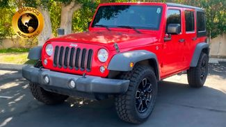 2016 Jeep Wrangler Unlimited in cathedral city, California