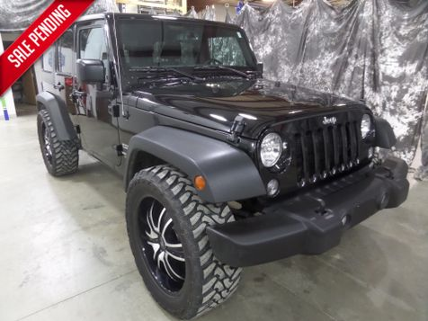 2016 Jeep Wrangler Unlimited Sport in Dickinson, ND
