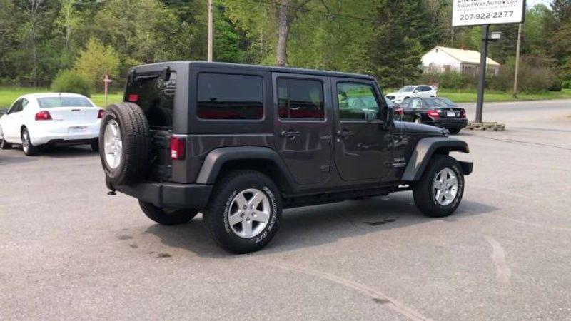 2016 Jeep Wrangler Unlimited Sport  in Bangor, ME