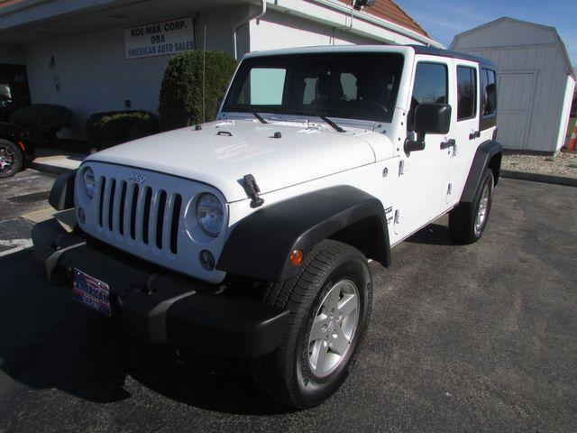 2016 Jeep Wrangler Unlimited Sport 4WD SOLD