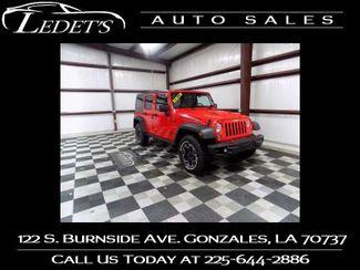2016 Jeep Wrangler Unlimited Rubicon Hard Rock - Ledet's Auto Sales Gonzales_state_zip in Gonzales