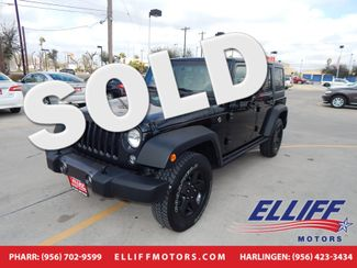 2016 Jeep Wrangler Unlimited Black Bear in Harlingen TX, 78550
