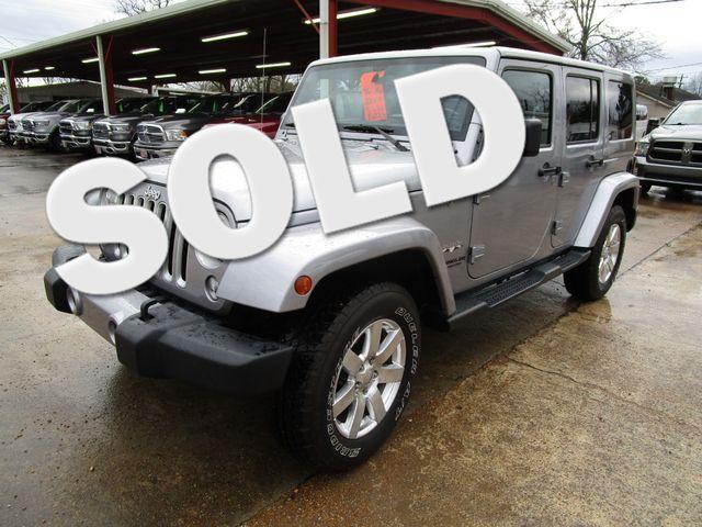 2016 Jeep Wrangler Unlimited Sahara Houston, Mississippi