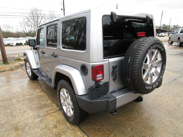 2016 Jeep Wrangler Unlimited Sahara Houston, Mississippi 4