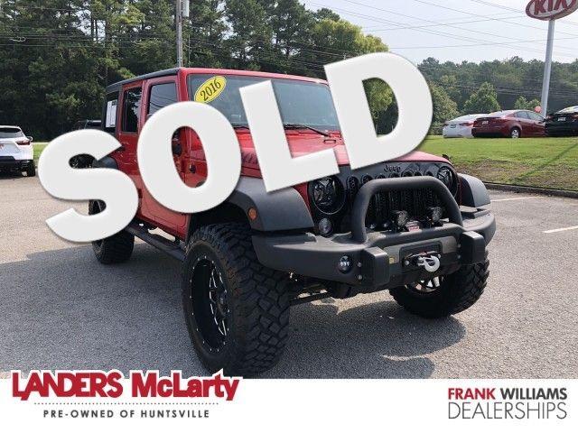 2016 Jeep Wrangler Unlimited Willys Wheeler   Huntsville, Alabama   Landers Mclarty DCJ & Subaru in  Alabama