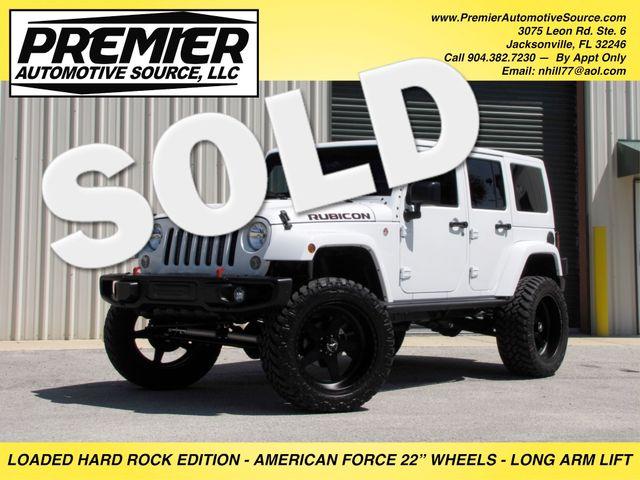 2016 Jeep Wrangler Unlimited Rubicon Hard Rock Jacksonville , FL 0