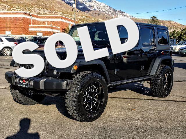2016 Jeep Wrangler Unlimited Black Bear LINDON, UT