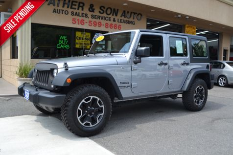 2016 Jeep Wrangler Unlimited Sport in Lynbrook, New