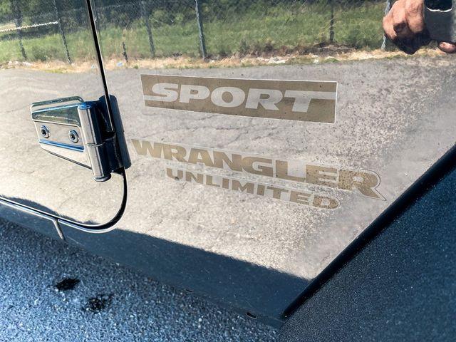 2016 Jeep Wrangler Unlimited Sport RHD Madison, NC 9