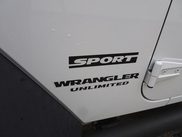 2016 Jeep Wrangler Unlimited Sport RHD Madison, NC 12