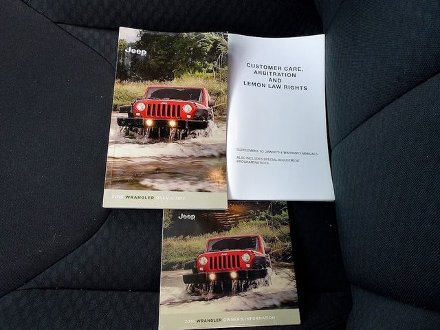 2016 Jeep Wrangler Unlimited Sport RHD Madison, NC 45