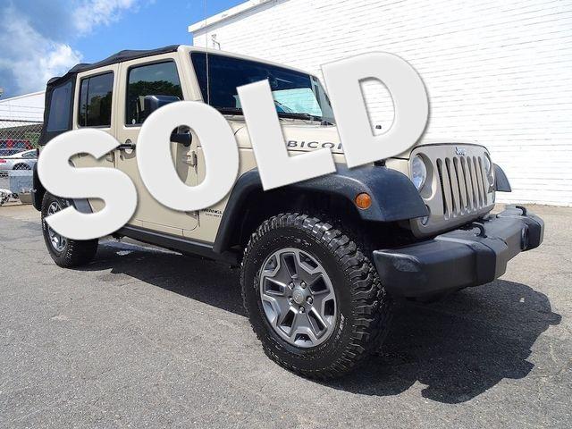 2016 Jeep Wrangler Unlimited Rubicon Madison, NC