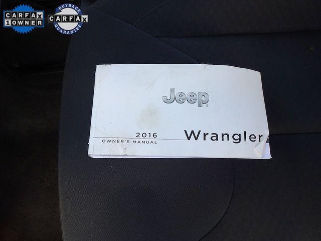 2016 Jeep Wrangler Unlimited Sport RHD Madison, NC 42
