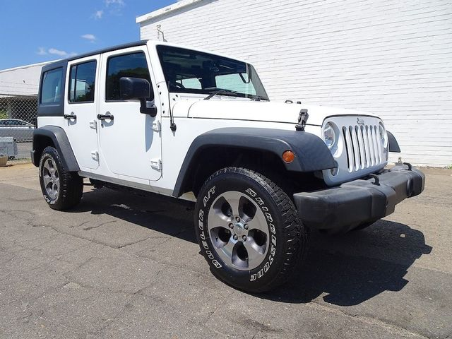 2016 Jeep Wrangler Unlimited Sport RHD Madison, NC 1
