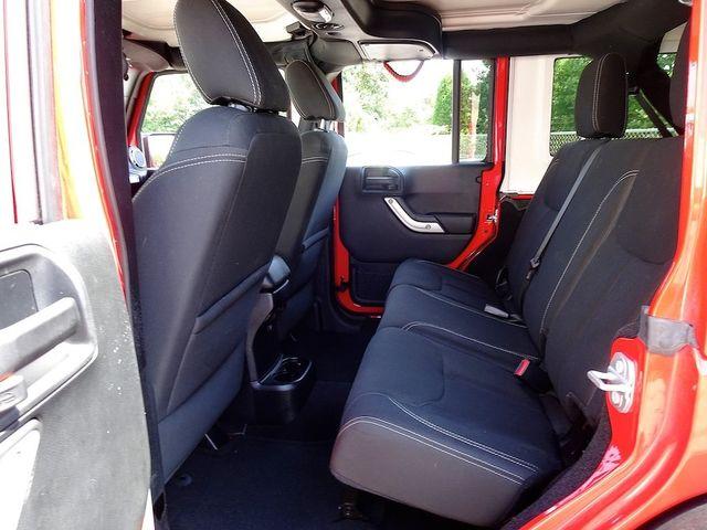 2016 Jeep Wrangler Unlimited Sahara Madison, NC 43