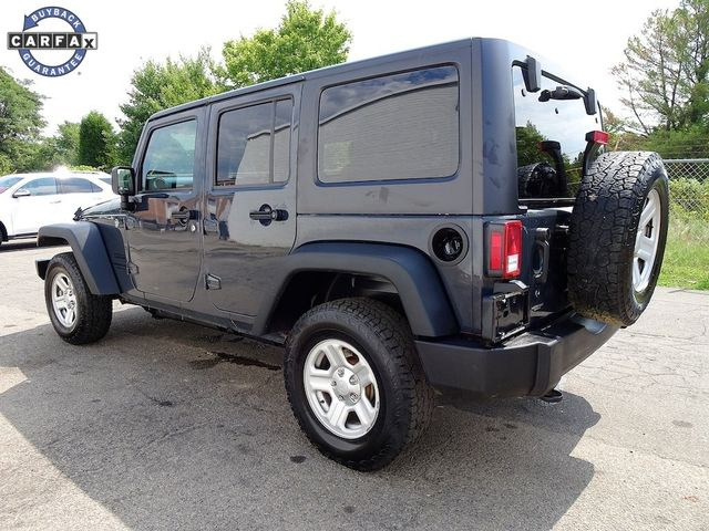 2016 Jeep Wrangler Unlimited Sport RHD Madison, NC 4