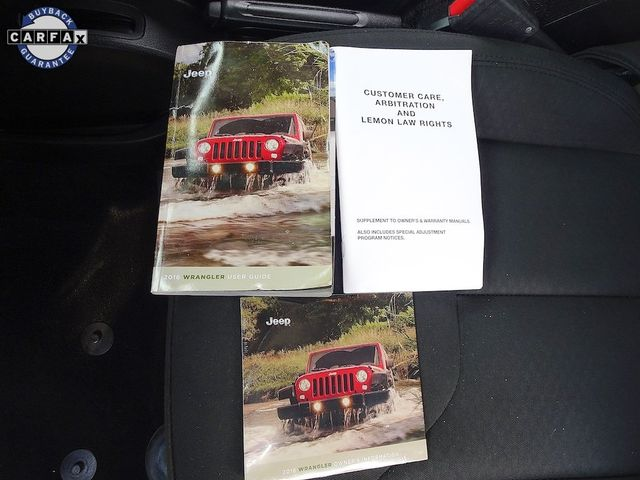 2016 Jeep Wrangler Unlimited Sport RHD Madison, NC 40