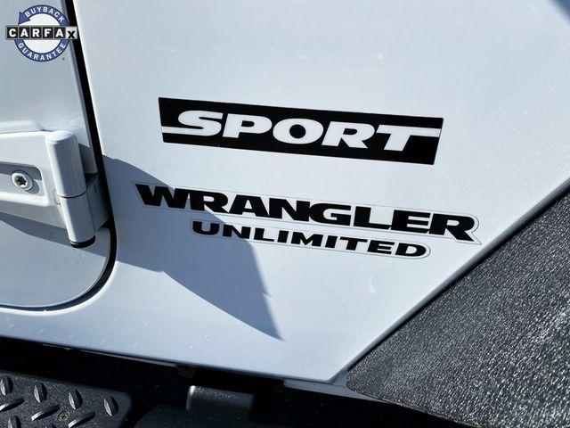 2016 Jeep Wrangler Unlimited Sport Madison, NC 11