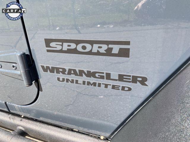 2016 Jeep Wrangler Unlimited Sport Madison, NC 9