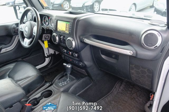 2016 Jeep Wrangler Unlimited Rubicon Hard Rock W LEATHER SEATS in Memphis, Tennessee 38115